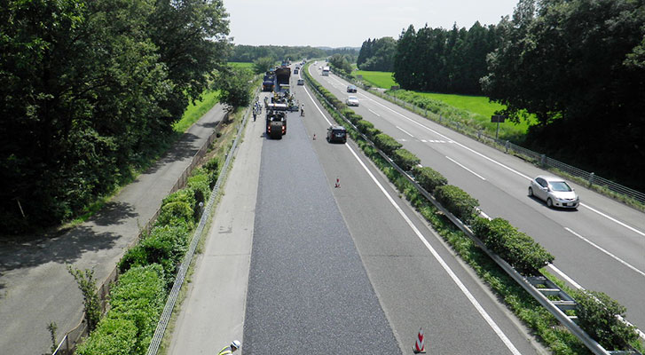 道路工事画像